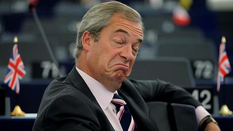 Trump suggested Farage for the role of UK ambassador to the US. © Vincent Kessler