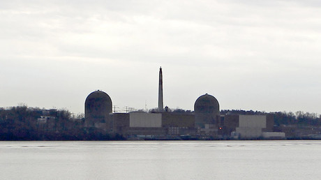 The Indian Point nuclear power plant in Buchanan, New York. © Mike Segar