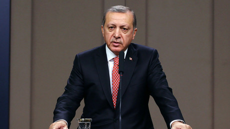 Turkish President Tayyip Erdogan © Presidential Palace