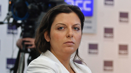 RT's editor-in-chief Margarita Simonyan. © Alexey Kudenko