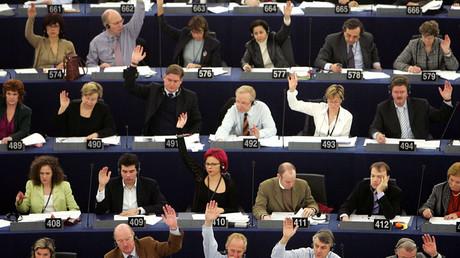 Members of the European Parliament © Vincent Kessler