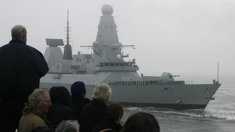 The Royal Navy Type 45 destroyer © Luke MacGregor