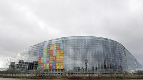 The building of the European Parliament in Strasbourg © Vincent Kessler