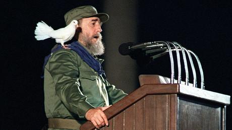 Cuban president Fidel Castro 08 January, 1989 © Rafael Perez