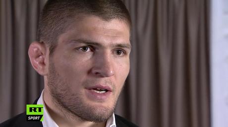 Russian UFC lightweight Khabib Nurmagomedov © RT