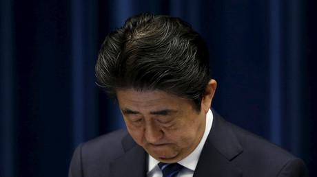 Japan's Prime Minister Shinzo Abe ©Toru Hanai