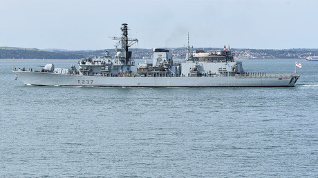 FILE PHOTO: The British Royal Navy frigate HMS Westminster © Toby Melville