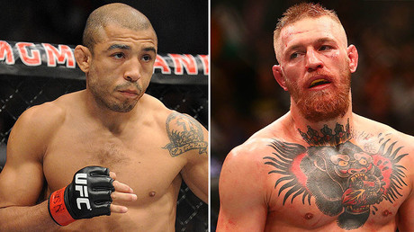 Jose Aldo (L), Conor McGregor (R) © Reuters