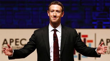 Mark Zuckerberg © Mariana Bazo