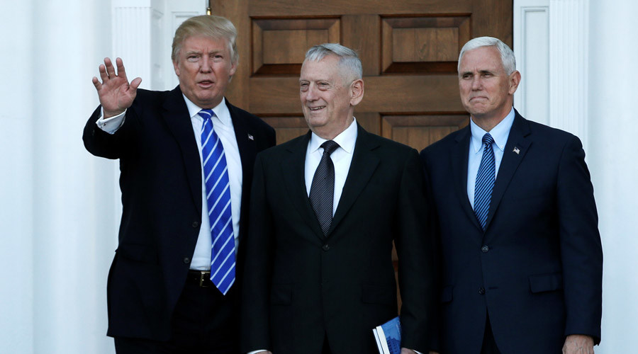Trump taps 'Mad Dog' Mattis to be secretary of defense