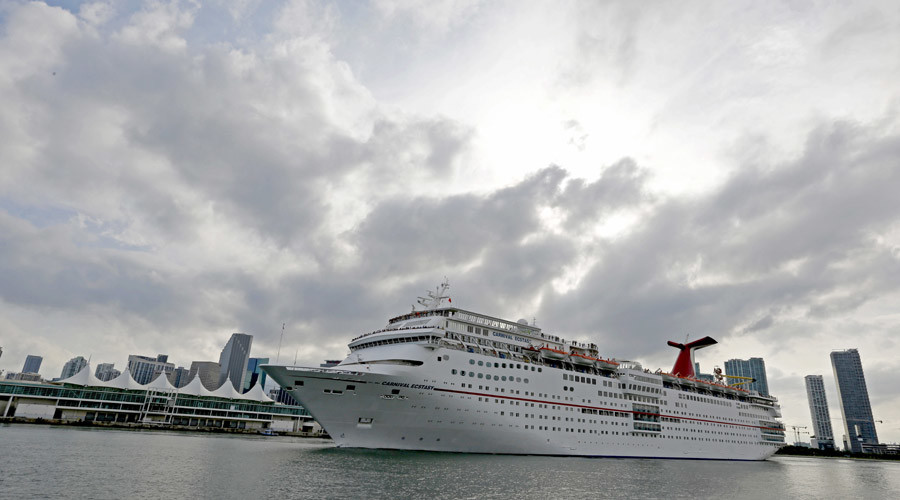 Cruising for a bruising: Carnival owned cruise line fined $40mn for polluting ocean