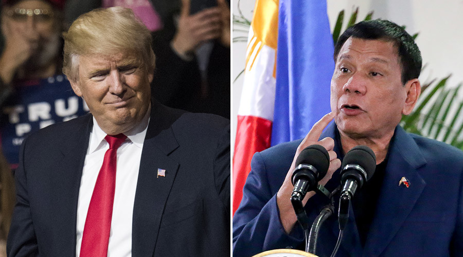 Trump invites Duterte to US during 'animated' talk, makes other diplomatic missteps