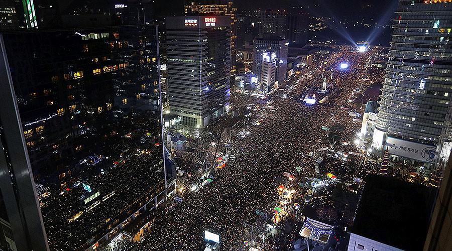 Over 1mn S. Koreans protest embattled President Park, opposition seeks impeachment (PHOTOS, VIDEOS)