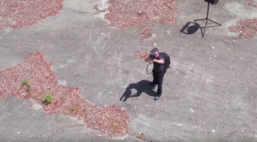 Anti-drone 'rifle' takes down quadcopters without firing a single bullet (VIDEO)