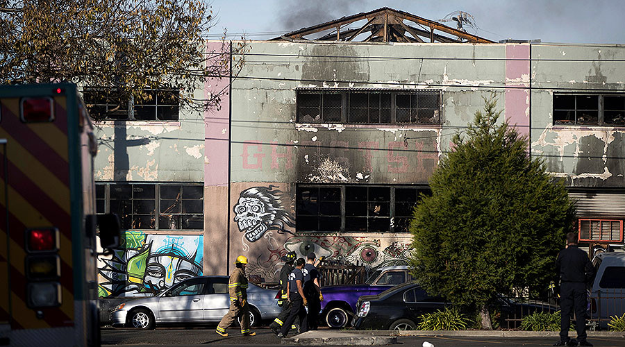 One-staircase 'labyrinth': Oakland fire survivors share accounts, claims of safety violations emerge