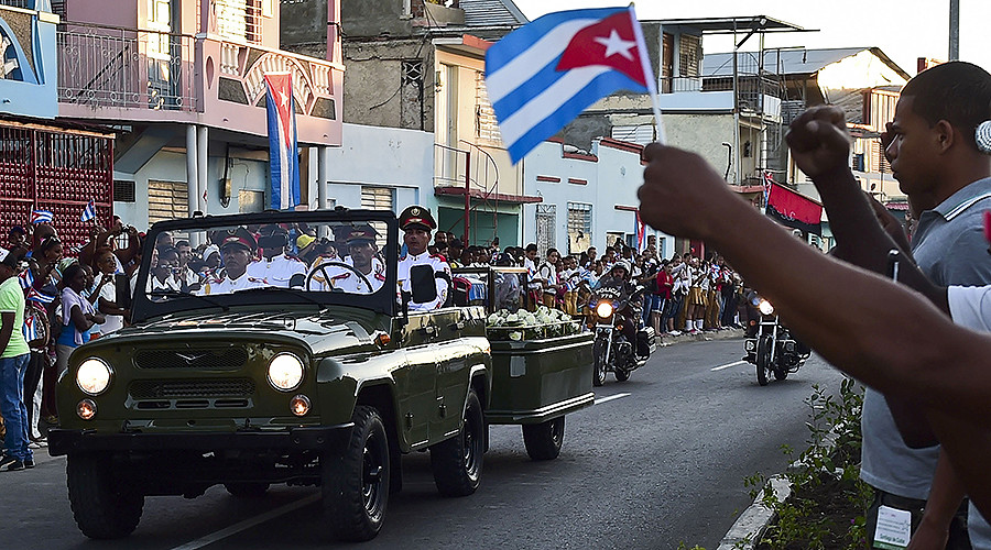 'Viva Fidel!' Castro's ashes interred in Cuban city of Santiago (PHOTOS)