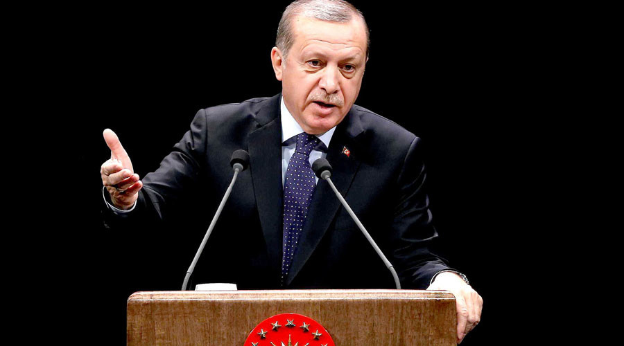 Turkey's Erdogan urges Russia, China & Iran to trade in local currencies