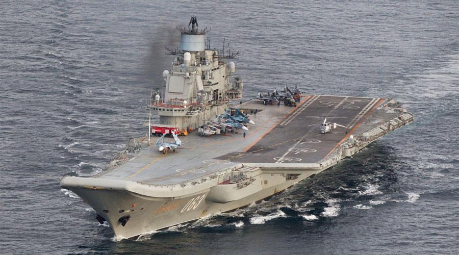 8 NATO ships shadowed Russian aircraft carrier 'Kuznetsov'