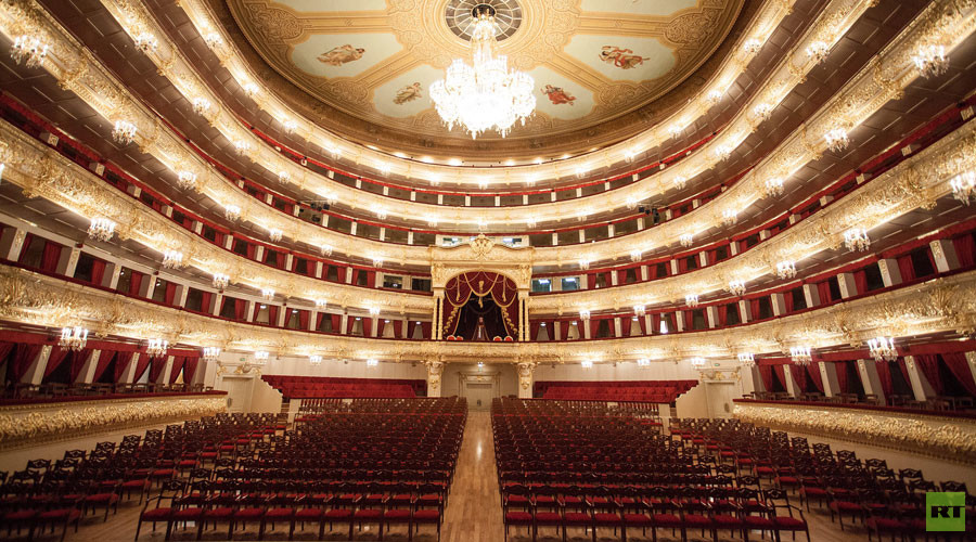 Explore the splendor of the Bolshoi Theater in stunning RT 360 video