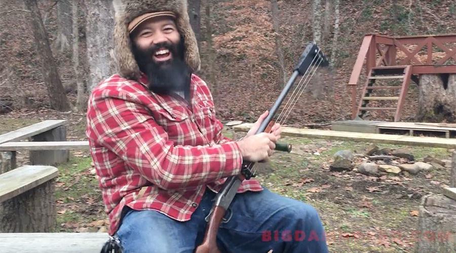 Killer guitar solo: Musician turns instrument into shotgun (VIDEO)