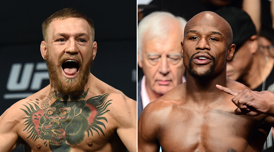 Image result for McGregor vs. Mayweather