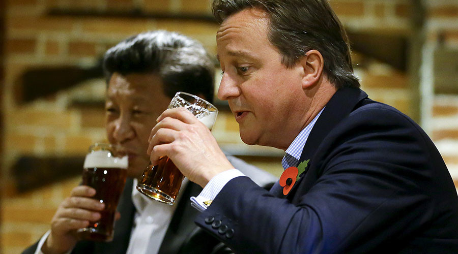 China buys pub where Xi Jinping & David Cameron posed for beery photo-op