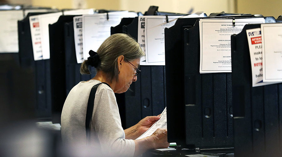 Florida voters seek presidential election recount