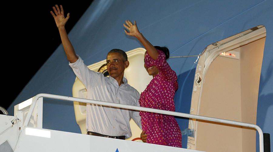 Obama's 2015 Hawaiian vacation cost taxpayers over $4.8mn
