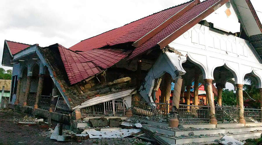 Dozens of buildings collapse after 6.5 quake in Indonesia (PHOTOS, VIDEOS)
