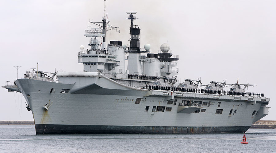 Britain scraps last aircraft carrier with replacements still years away