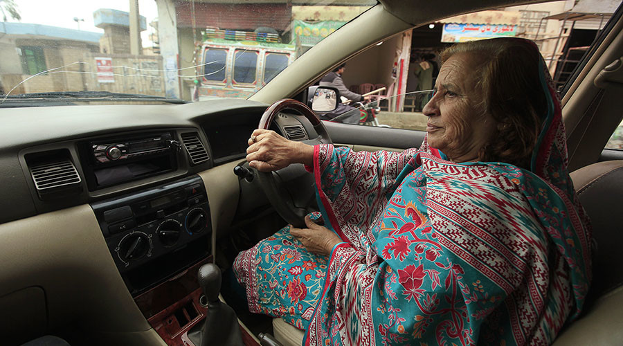 Breaking barriers: Pakistani taxi app hires women drivers