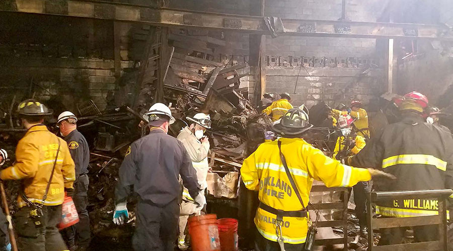 Warehouse fire recovery effort complete; death toll at 36