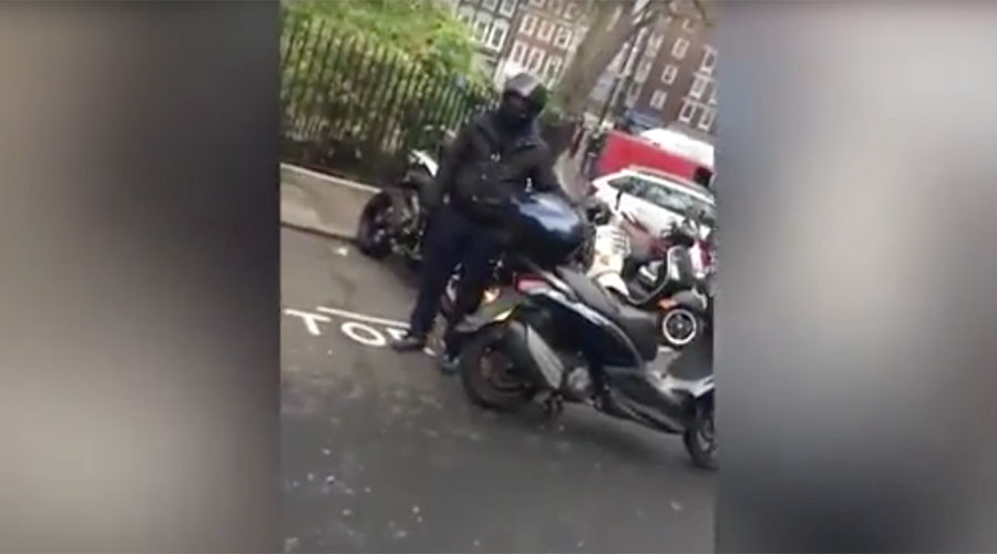 Thieves use angle grinder to steal £40k superbike… until brave Londoners step in (VIDEO)