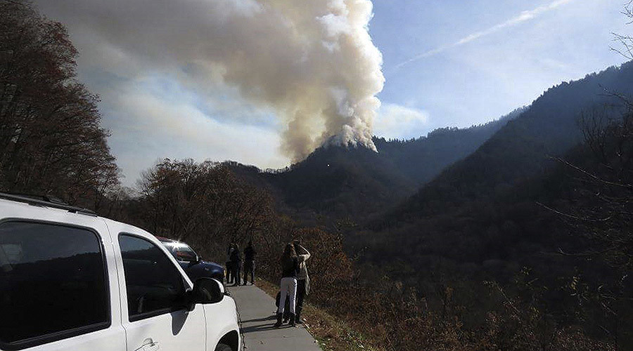 Teens charged with arson in connection to Tennessee wildfires
