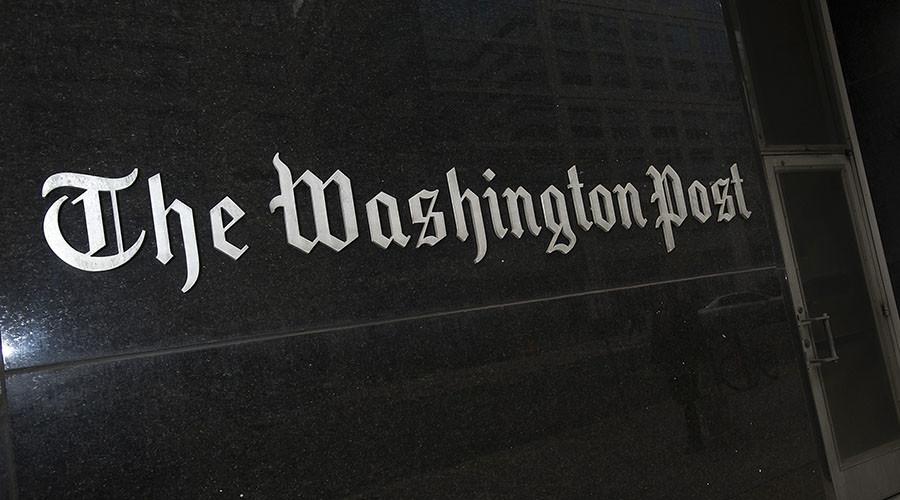 Washington Post admits article on 'Russian propaganda' & 'fake news' based on sham research