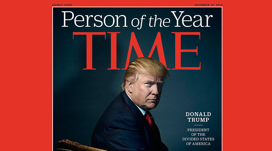 'They gave him horns': Trump's TIME cover fans flames of devil conspiracy