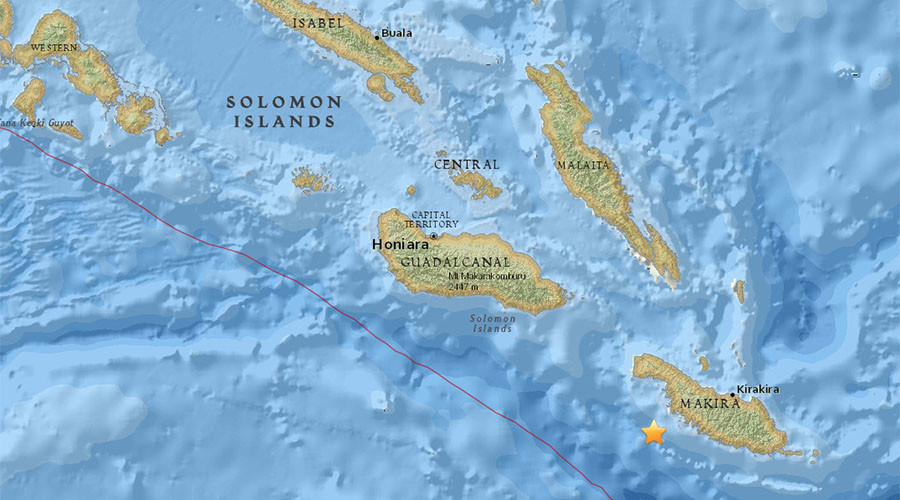 Tsunami warnings are cancelled after big Pacific earthquake