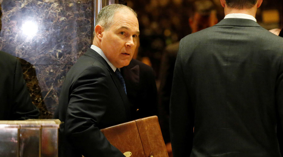 Scott Pruitt and his many fights against EPA, the agency he's picked to lead