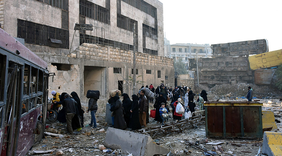 Nearly 8,500 civilians flee militant-held areas of Aleppo – Russian MoD