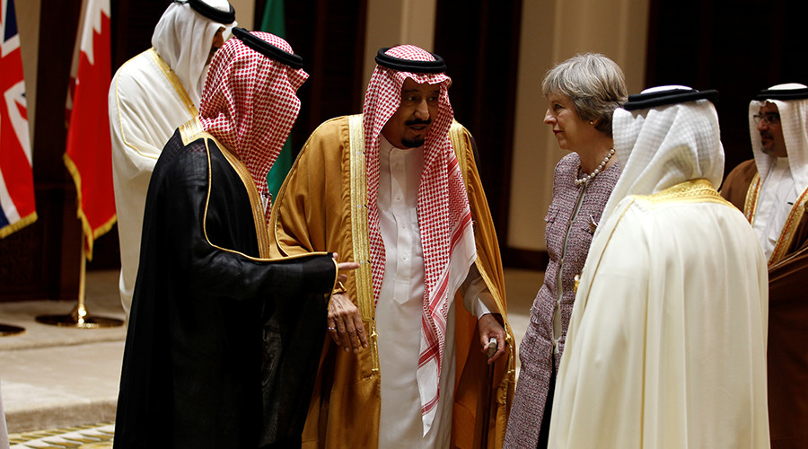 Mayday! UK cozying up to Saudi Arabia, major human rights offender