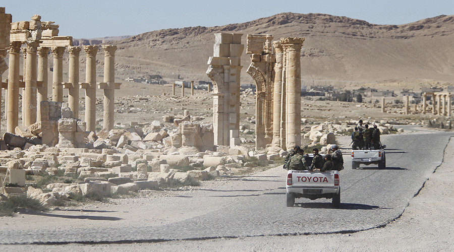 Syrian Army backed by Russian Air Force thwarts ISIS attack on Palmyra