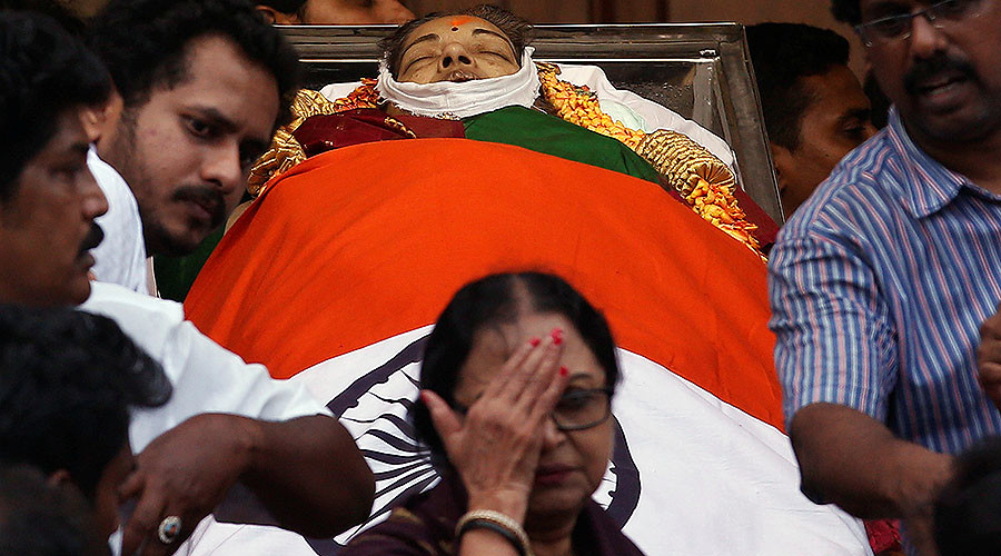 470 people 'die of grief' in wake of leading Indian politician's death – party claim