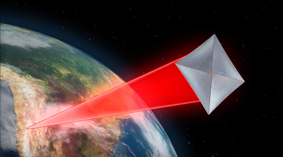 NASA designing nano-starship which travels at 20% the speed of light
