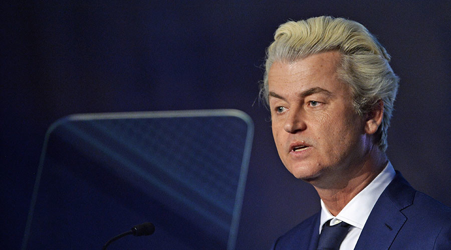 Dutch MP Geert Wilders' far-right party rising despite his discrimination conviction – poll