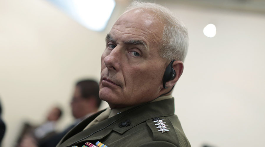 Trump nominates retired general John Kelly as head of homeland security