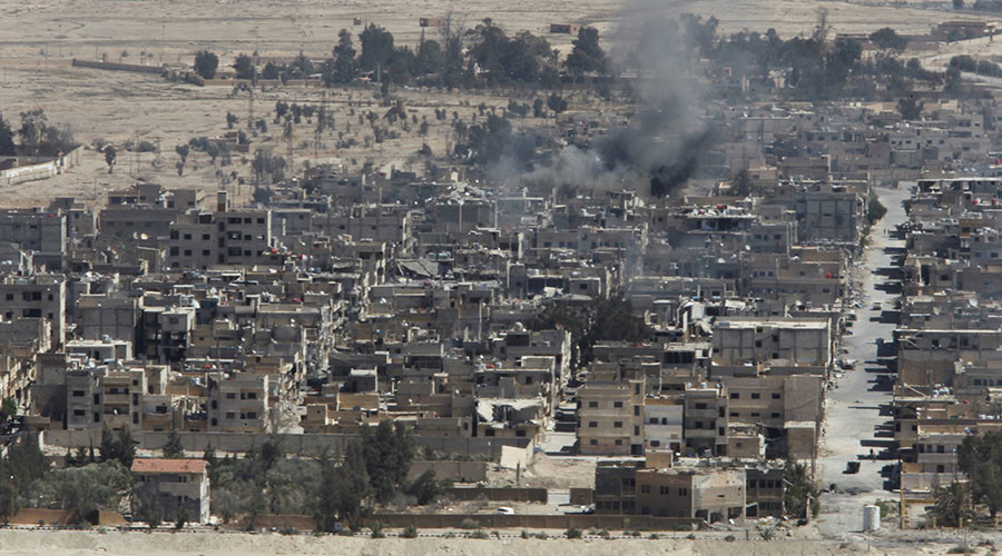 'Decamped from Mosul ISIS fighters in Syria perfect for US narrative'