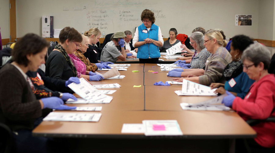 Wisconsin recount ends, Trump... gains more votes