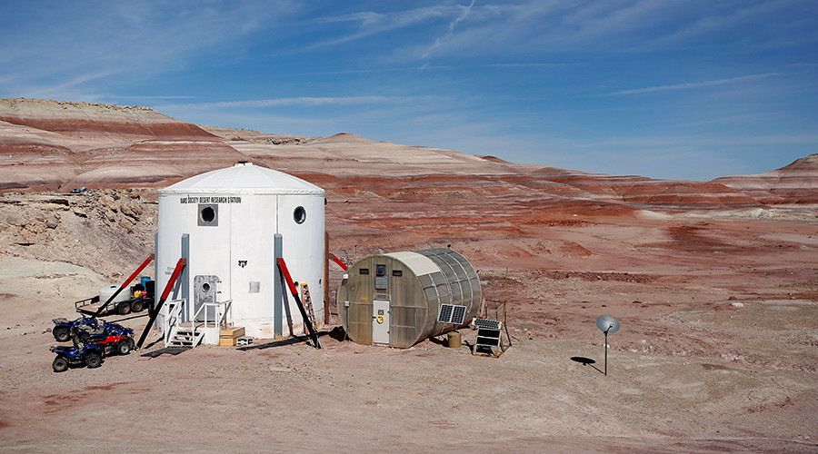 Mars-like station premieres on first-ever Facebook 360 livestream (VIDEO)