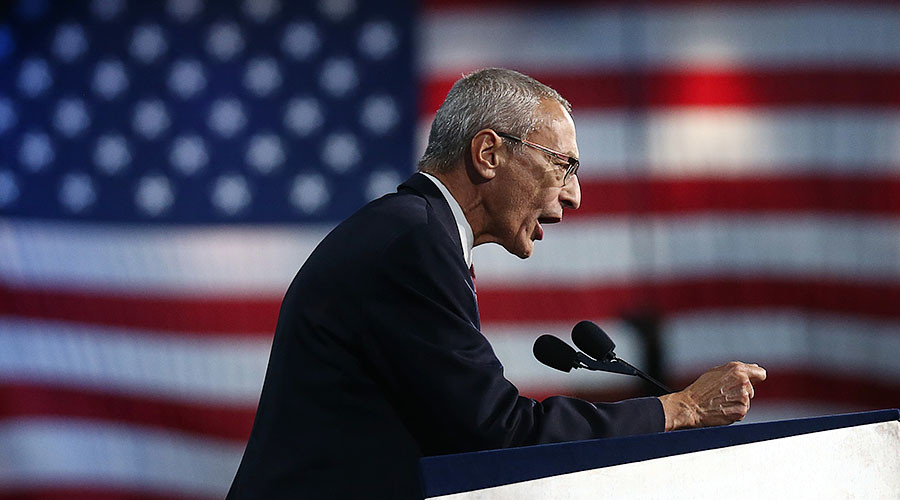 Podesta leaks triggered by 'typo' - Clinton campaign aide
