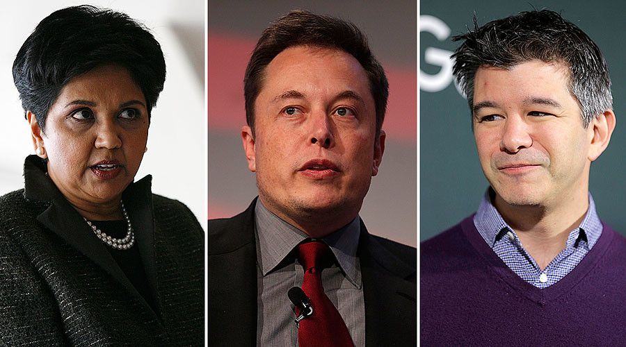 Tech support: Tesla, Uber & Pepsi CEOs join Trump's advisory council